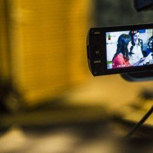Grabación de un videoclip